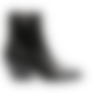 Elm Leather Black Boot