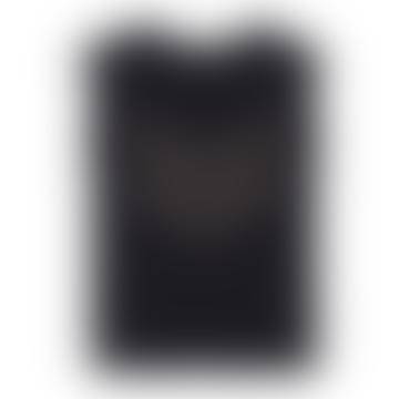 Charcoal Hayden Logo Studs Tee