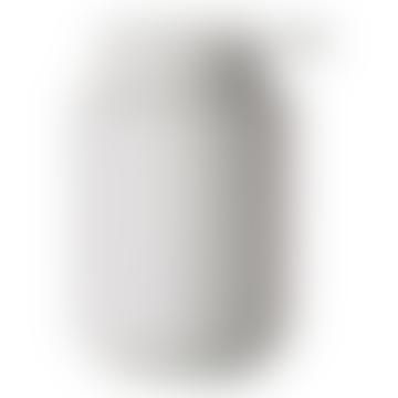 H12.8 cm. 0.25L Soap dispenser in soft matt grey