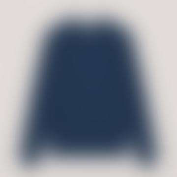 YMC Blue Schrank Raglan Sweatshirt