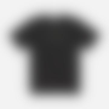 Saturdays NYC Black Stencil T Shirt
