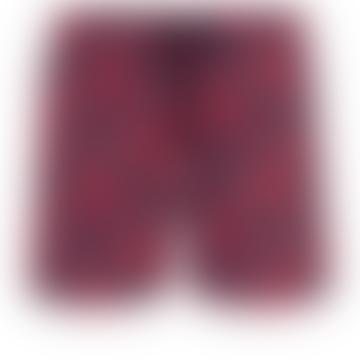 Vilebrequin Moorise Swim Short Stretch Crackers Navy