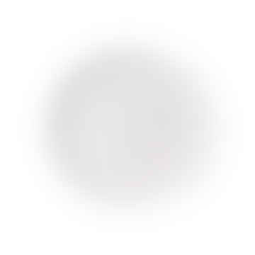 Speckled Breakfast / Cake Plate White