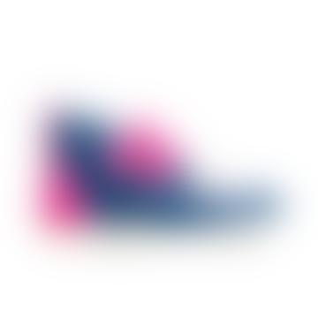 Rosa blaue Klett-Barfußschuhe
