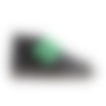 Schwarzgrüne Klett-Barfußschuhe