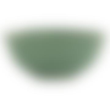 Ib Laursen Green Stoneware Dunes Cereal Bowl