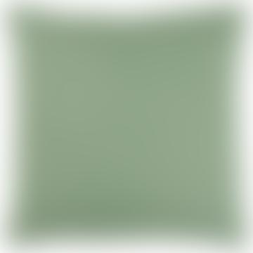 Ib Laursen Green Linen Cushion Cover