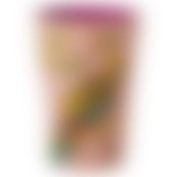 Pink Vintage Budgie Print Melamine Cup