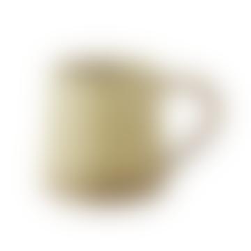 Beige Stoneware Mug with Handle 400ml