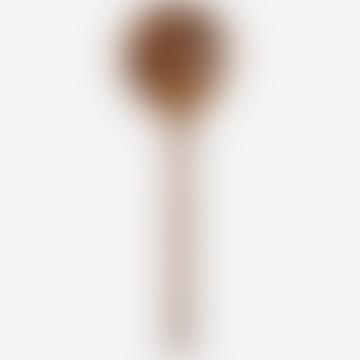Dark Natural Wooden Serving Spoon