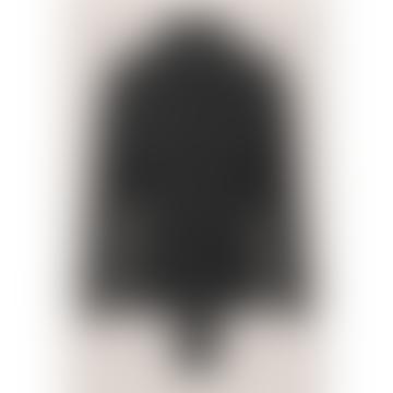 Silvia Black Short Trench Jacket