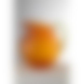Orange Palla Pitcher with Green Handle