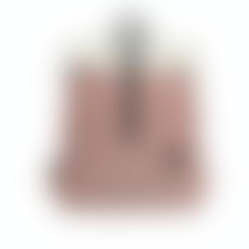 Enter  Natural Fold Top with Melange Red Backpack