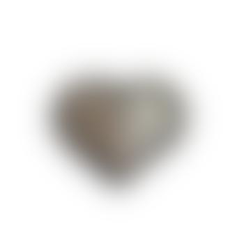 Silver Heart Brooch