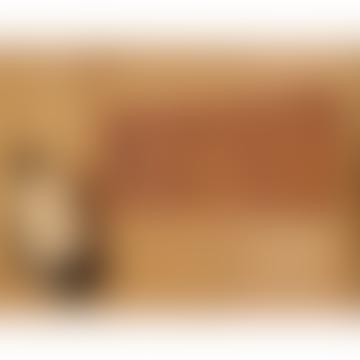 Harold´s Lederwaren Cognac Headphone Cable Organizer