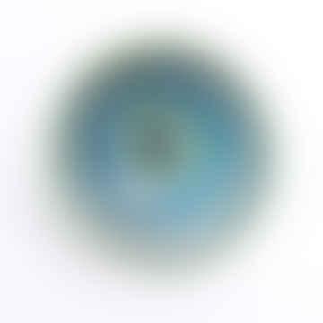 Blue Glazed Ceramic Bowl Small