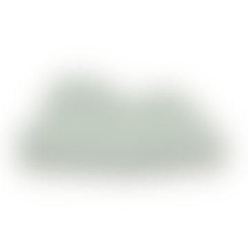 30 x 58cm Aqua Cloud Pompom Cushion