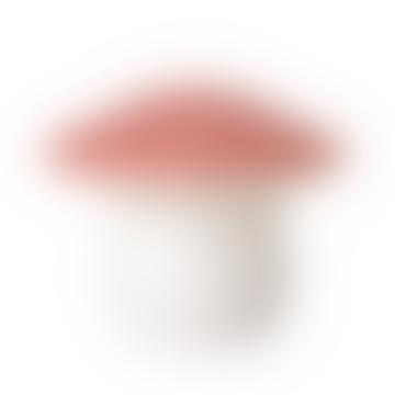 Medium Peach Mushroom Lamp