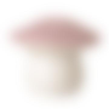 Medium Pink Mushroom Lamp