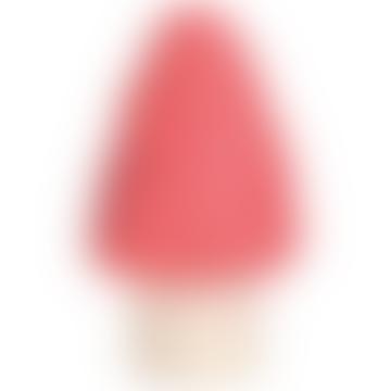 Small Mushroom Peach Lamp