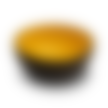 Yellow Plain Coconut Bowl