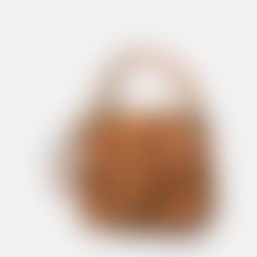 Small Brown Trinny Leather Handbag