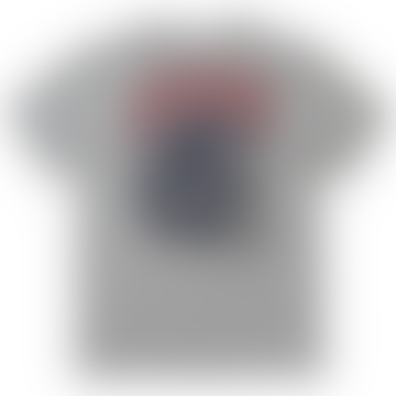 Heater Grey Skull Core T Shirt