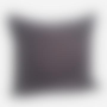 Madam Stoltz Velvet Cushion Dark Purple