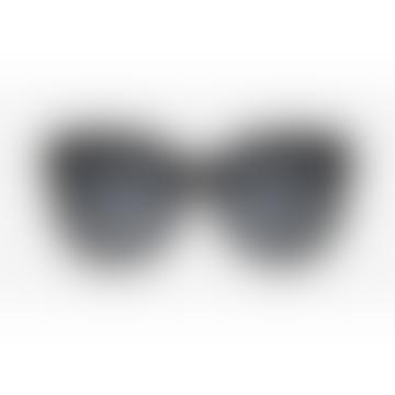 ZURI Sunglasses Recycled Gloss Black