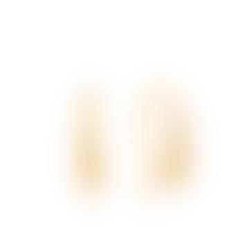 Gold Luxe Hook Earrings