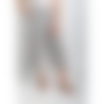 Mila Cotton Linen Pinstripe Culottes