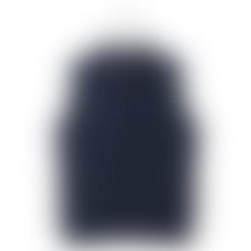 Blue Padded Vest Coat
