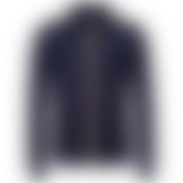 K-WAY Blue Depth Amaury Nylon Jersey Bomber Jacket for 3 to 8 Years Kid