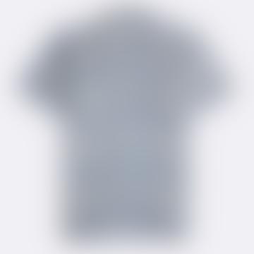 Stonewash Blue Salines Linen Short Sleeve Selleck Shirt