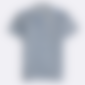 Monaco Blue Linen Flower Power Selleck Shirt