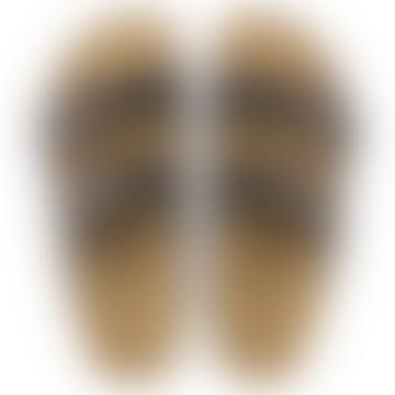 Dark Brown Leather Arizona BS Narrow Sandal