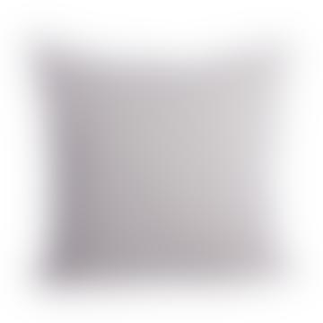 Light grey linen cushion cover 50x50cm
