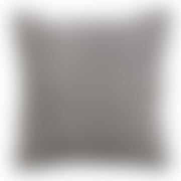 Nordal Cushion 45x45cm in grey purple cotton canvas