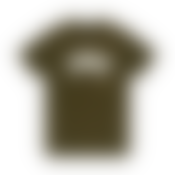 Green Cotton Carby Landie Men's T Shirt