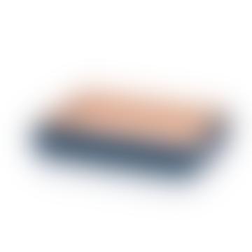 Arcipelago Forno Tablett Pink / Blau 32 x 24 x 6 cm