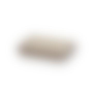 Arcipelago Rechteckige Schale Elfenbein / Sand 15 x 10 x 3 cm