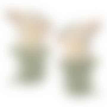 Bambi Rattle - Dusty Mint