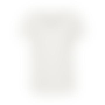 Birna V-Neck T-Shirt in Bright White 30305008