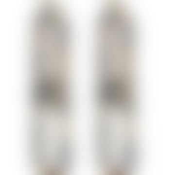 Tortoiseshell Resin Link Earrings