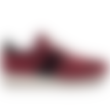 Mens Jazz Suede Burgundy Shoes