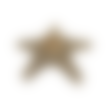 A la Gold Starfish Candle Holder