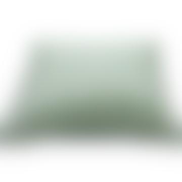 Green Starcheck Cushion