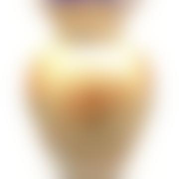 Ocker handbemalte Vase
