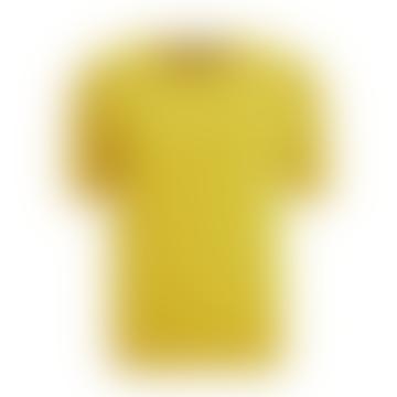 Mustard Volto Cotton and Silk Yarn Jumper