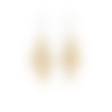Anna Beck Beaded Chandelier Earrings